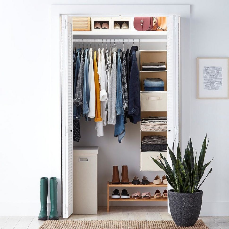 Organizing Your First Apartment: Closet Storage   Container Stories