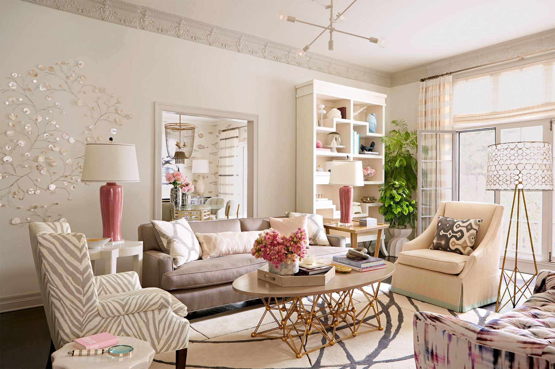 Our Best Neutral Living Room Color Ideas | Better Homes & Gardens - living room ideas tan couch