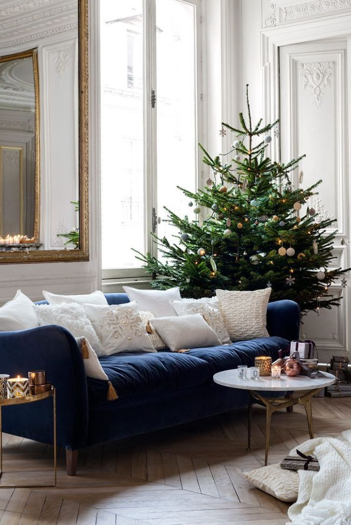 Our Guide to Holiday Home Decor (With images) | Christmas living ..