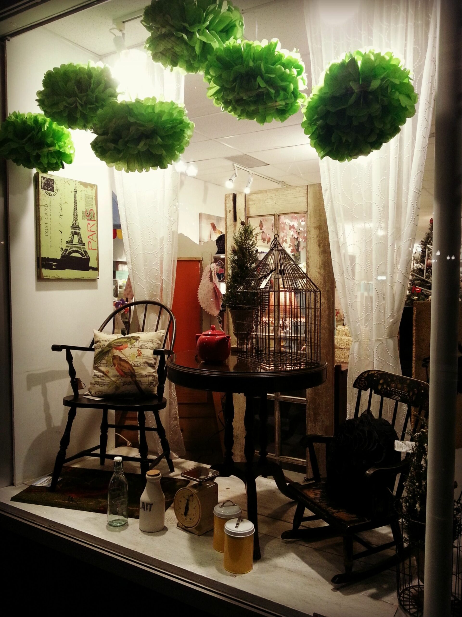 Our January window display! (With images) | Store window displays ..