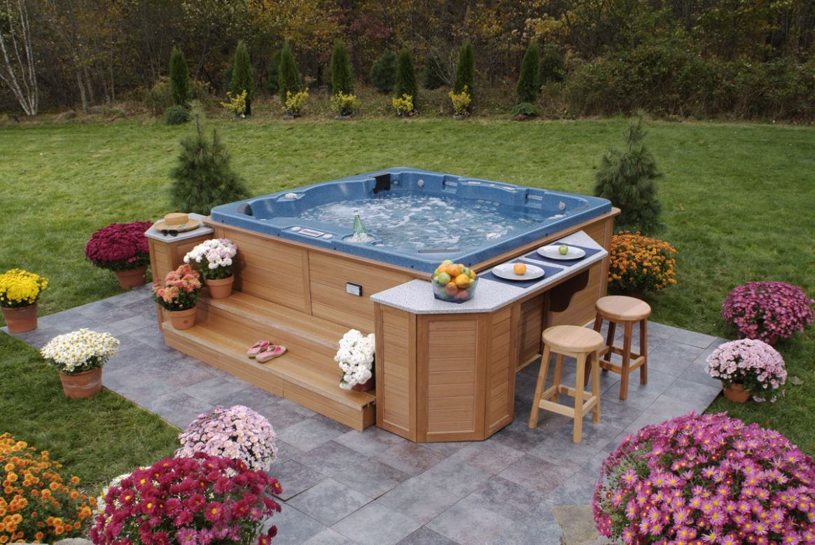 Outdoor Jacuzzi Hot Tubs | Pool Design Ideas - pool jacuzzi ideas
