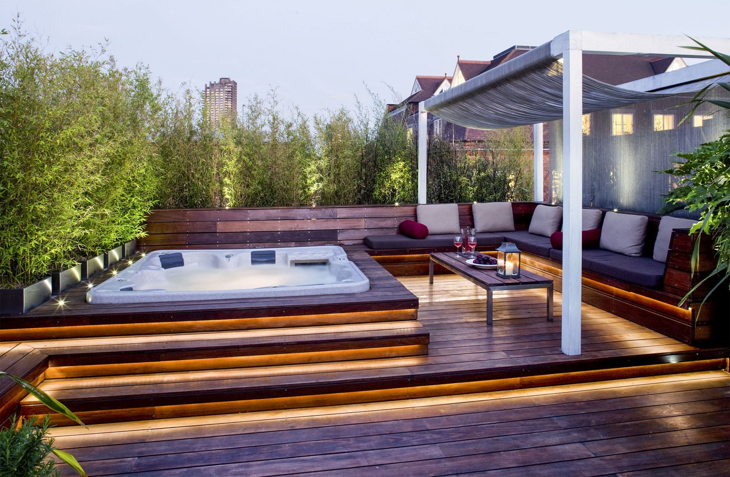 Outdoor Jacuzzi Ideas: Designs, Pros, and Cons [A Complete Guide ..