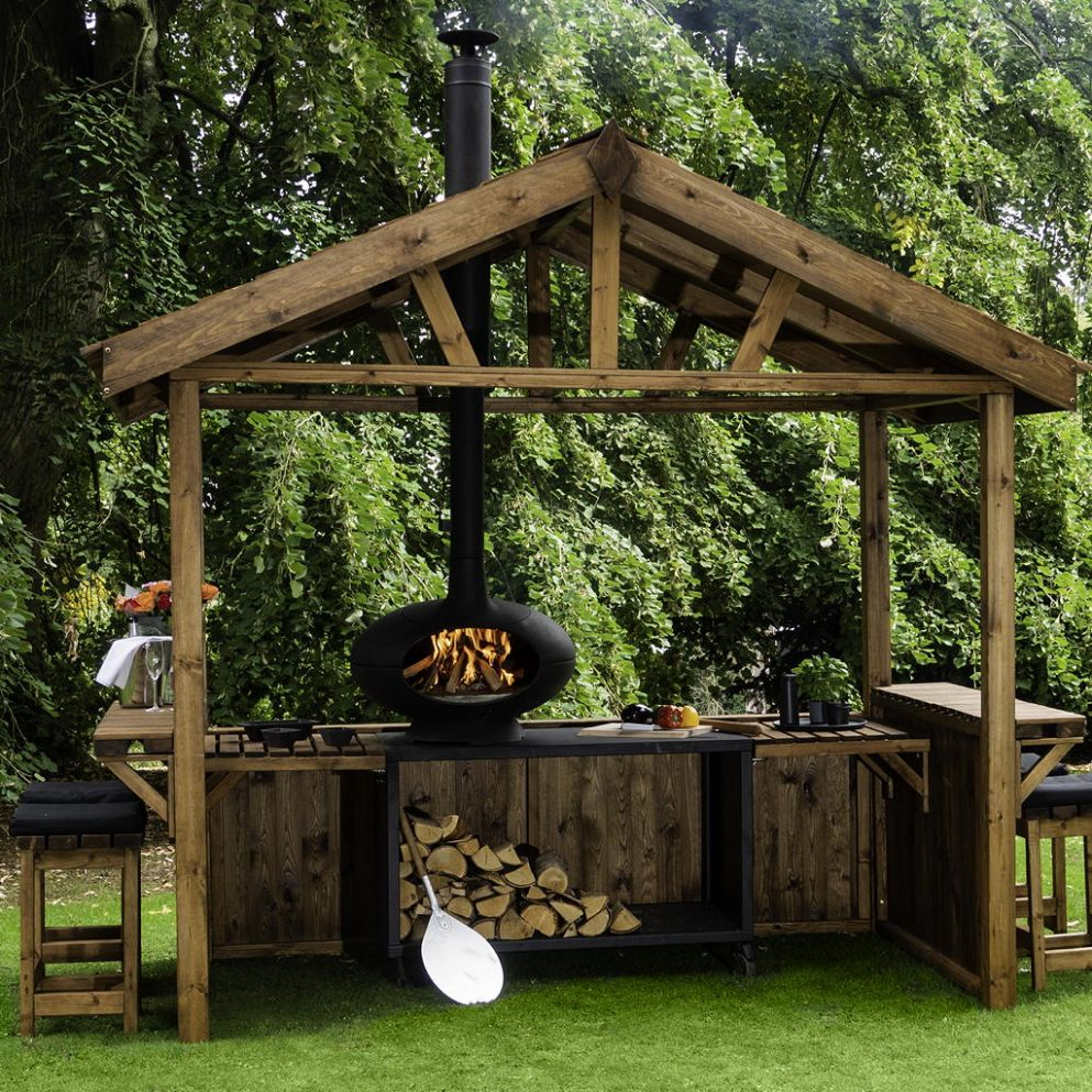 Outdoor kitchens – ideas and designs for your alfresco cooking space - garden kitchen ideas