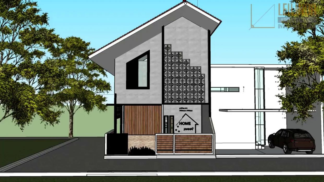 Outside in Tiny House by Tiny House Indonesia - YouTube