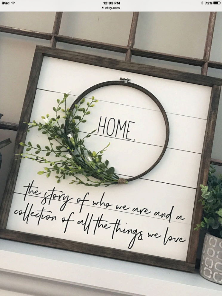 Paint white frames?? (With images) | Home decor signs, Small ..