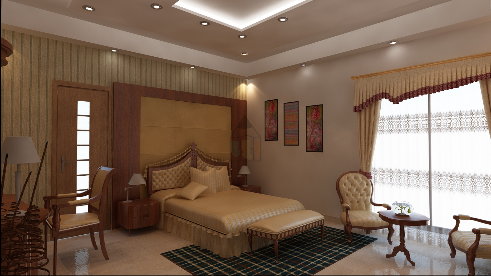 Pakistani bedroom design. In Pakistan, clients prefer their ..