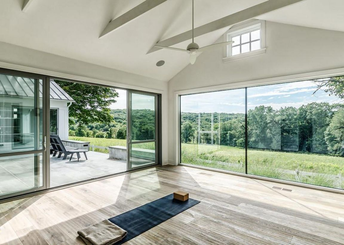 Panoramic windows design and using in modern homes idea - window ideas for new homes