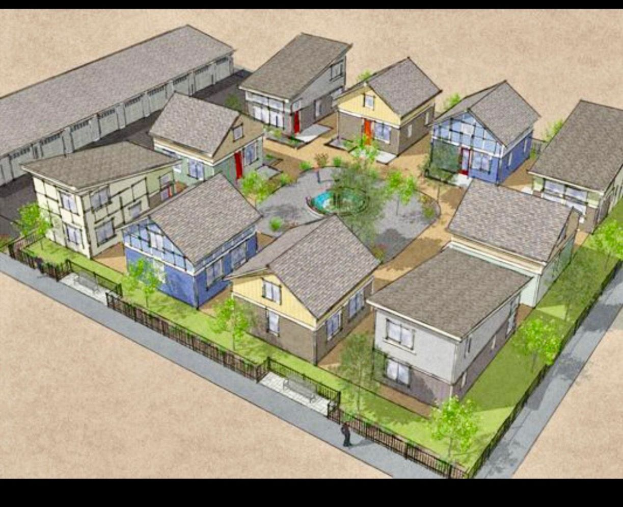 PARKING / Tiny community layout idea | Tiny house community, Tiny ..