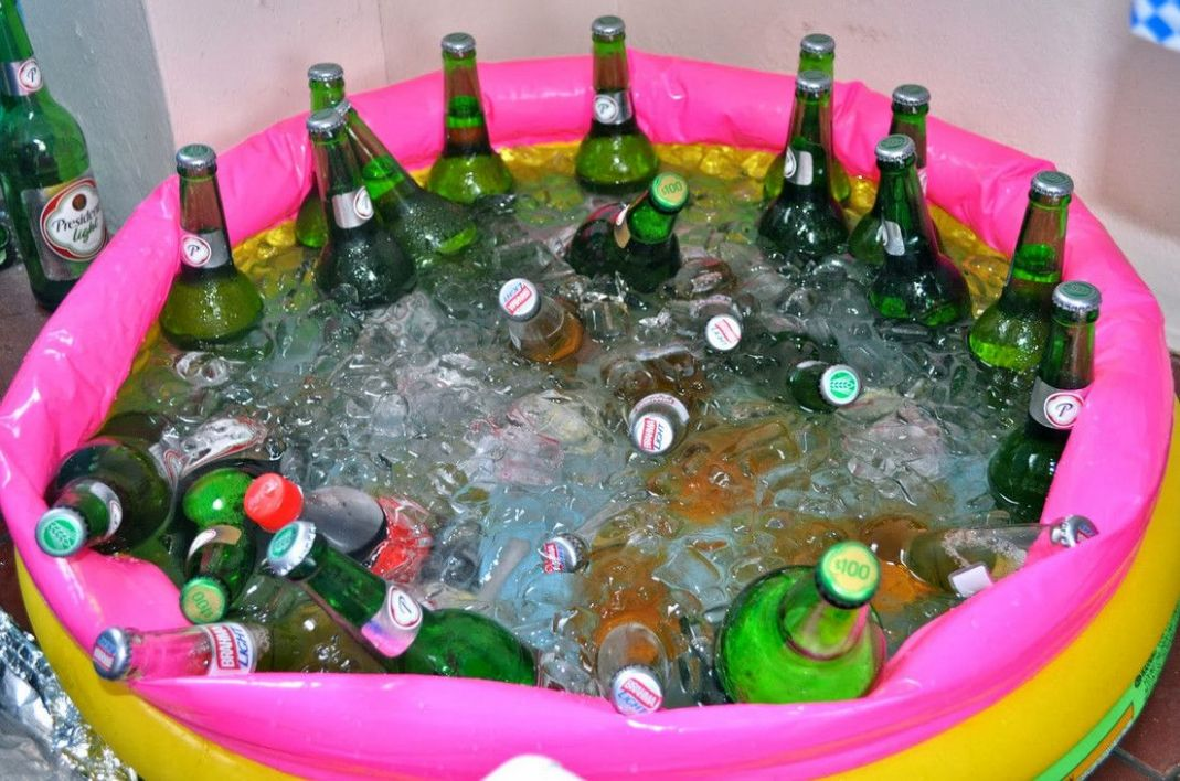 Party Favors for Pool Birthday Party... for the adults | Pool ..
