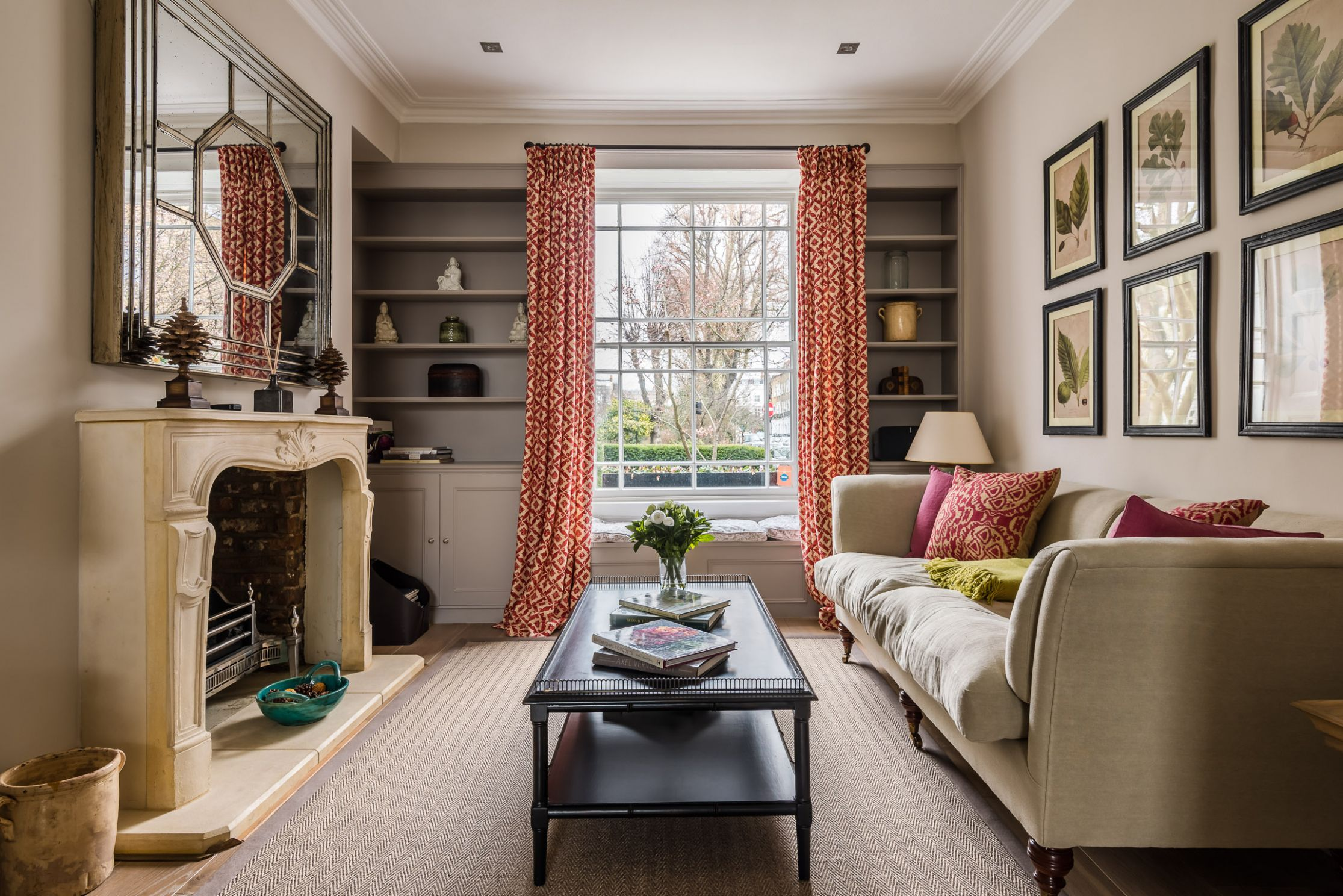 Pembroke House, London: Townhouse decor inspiration - Scene Therapy - townhouse room inspiration