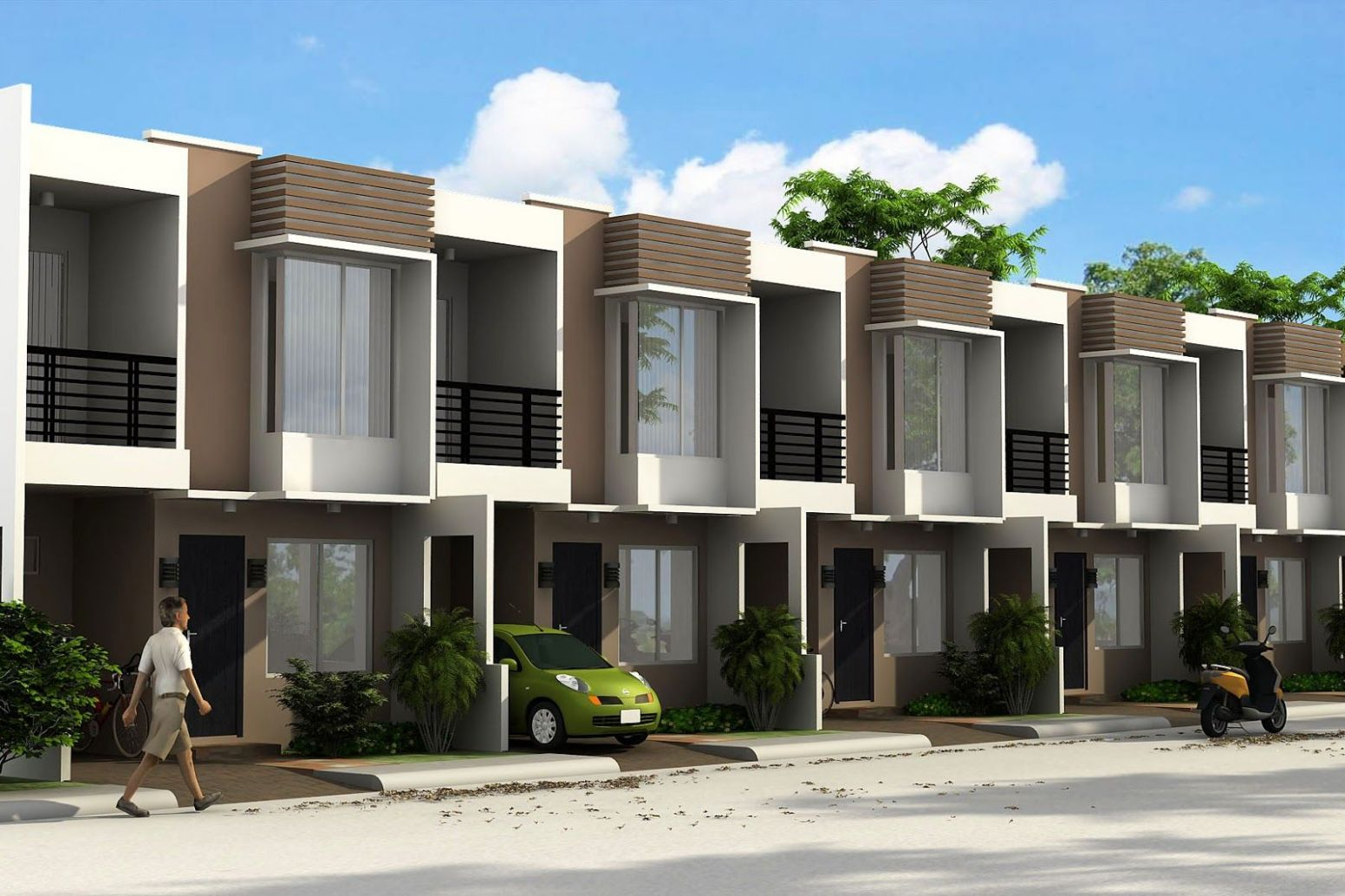 philippines townhouse design - Google Search (With images ..