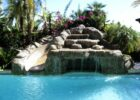 Phoenix-pool-grotto-slide (With images)   Cool swimming pools ...