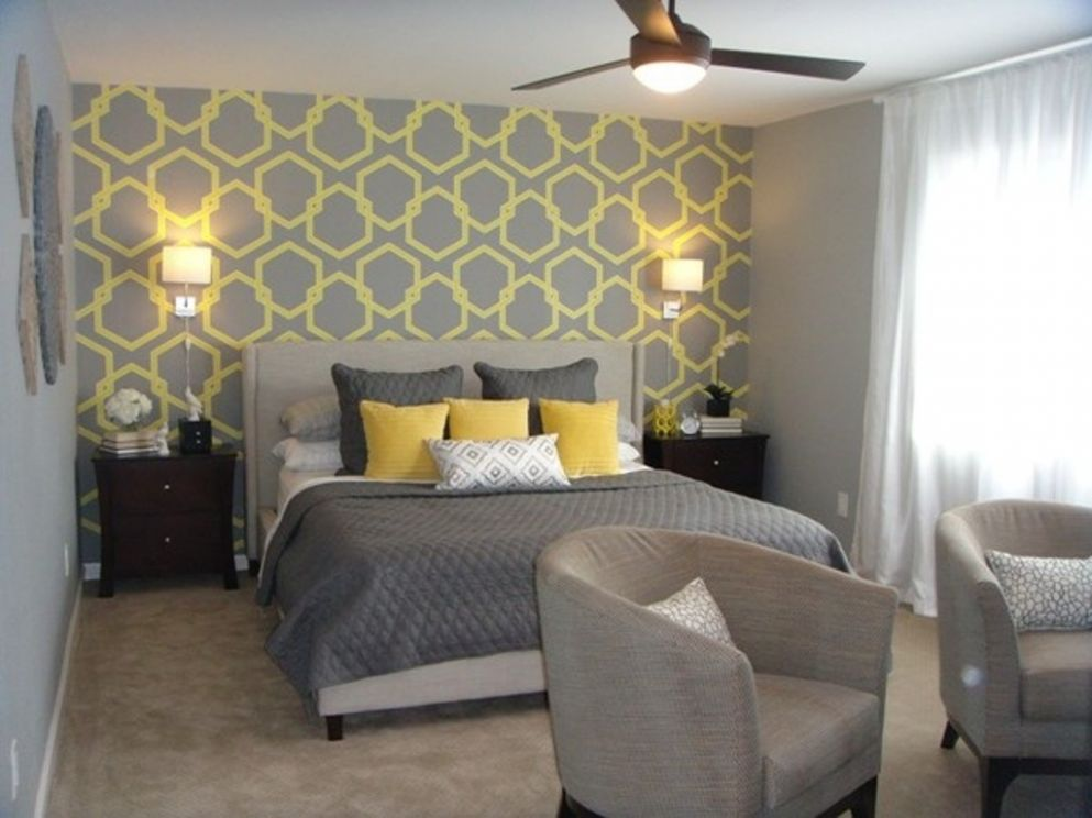 Pictures Grey Yellow Bedrooms Bedroom Decorating Ideas – Freshsdg