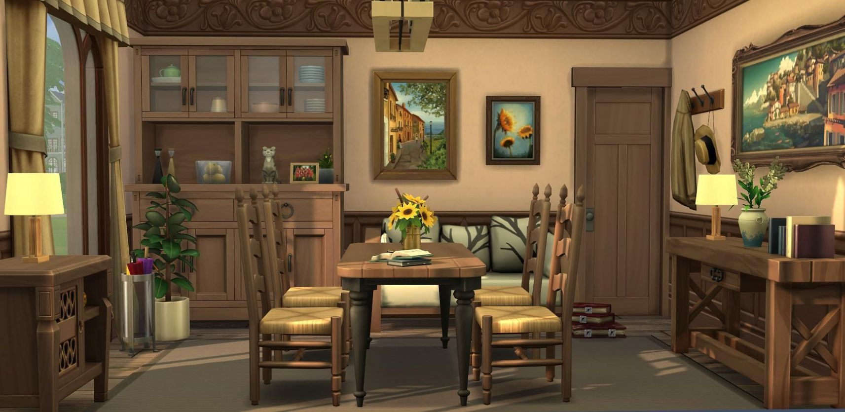 Pin by Alicia Layton on Sims | Sims house, Sims 10 houses, Sims 10 - dining room ideas sims 4