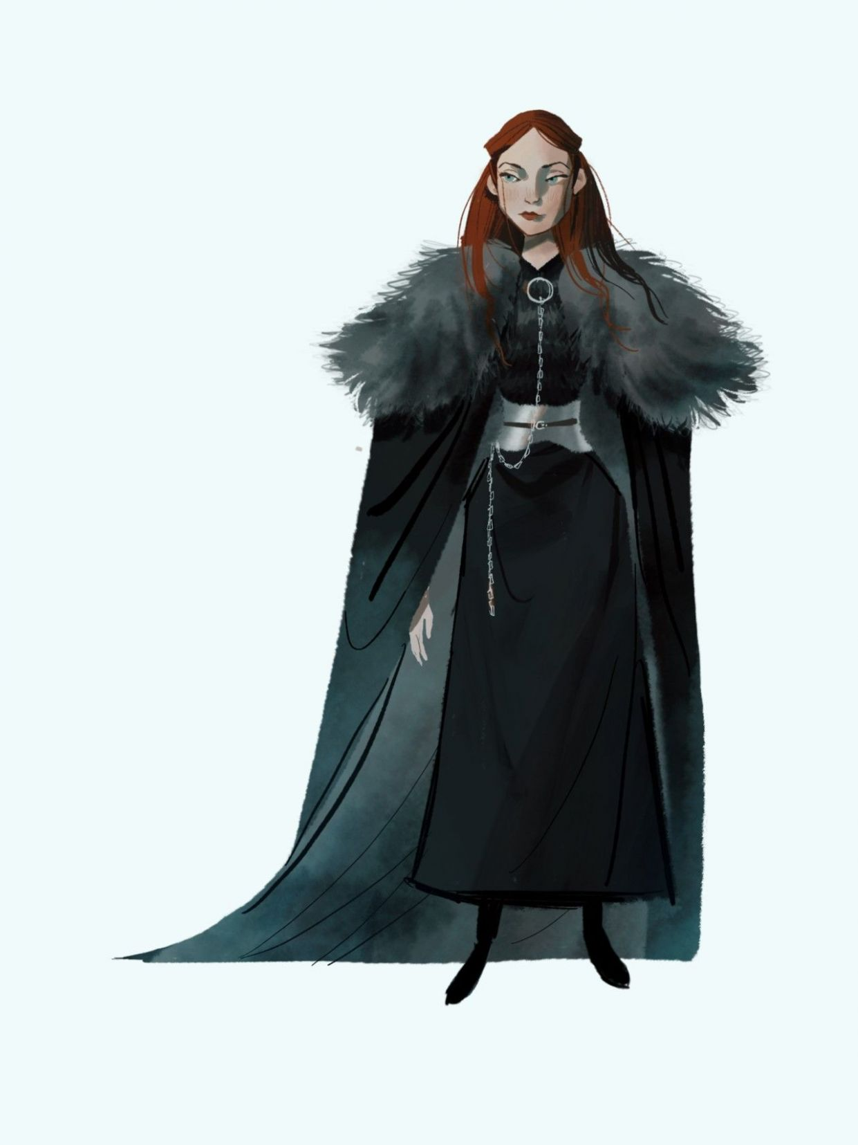 Pin by Minda on Game of thrones art | Game of thrones art, Stark ...