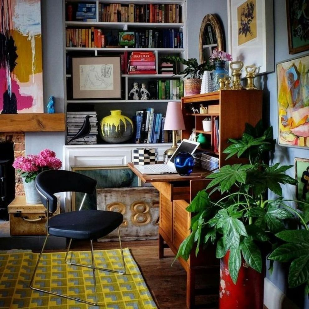 Pin by paulpasha on Home decor | Home office decor, Eclectic ..