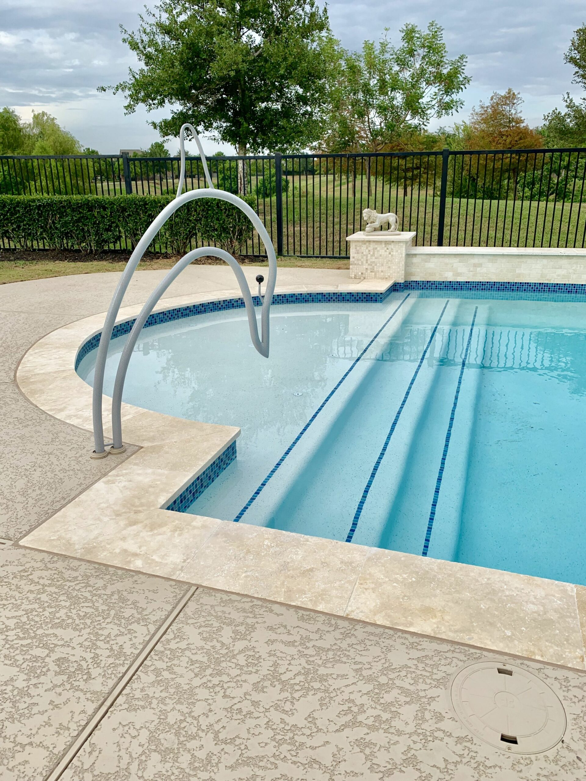 Pin by Swan Pool Rails on Swan Pool Rails (With images) | Pool ..