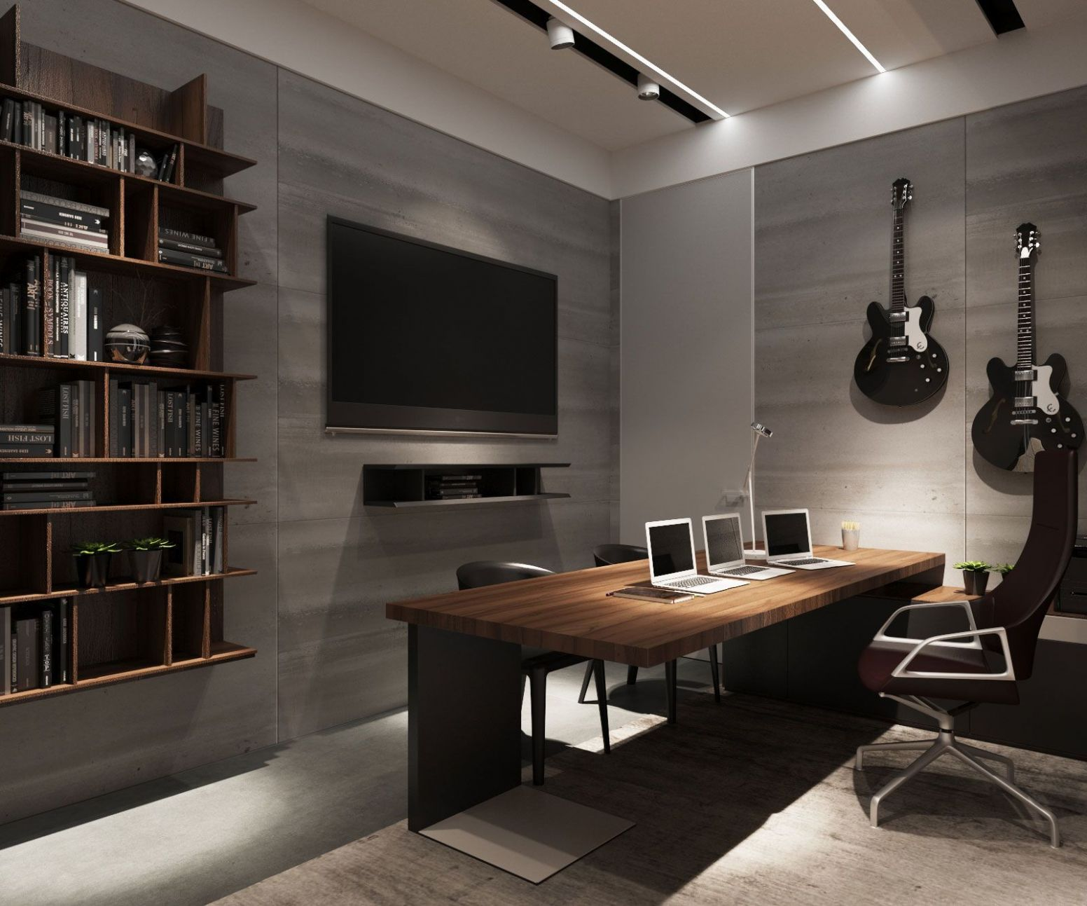 Pin on Home Office - home office ideas man