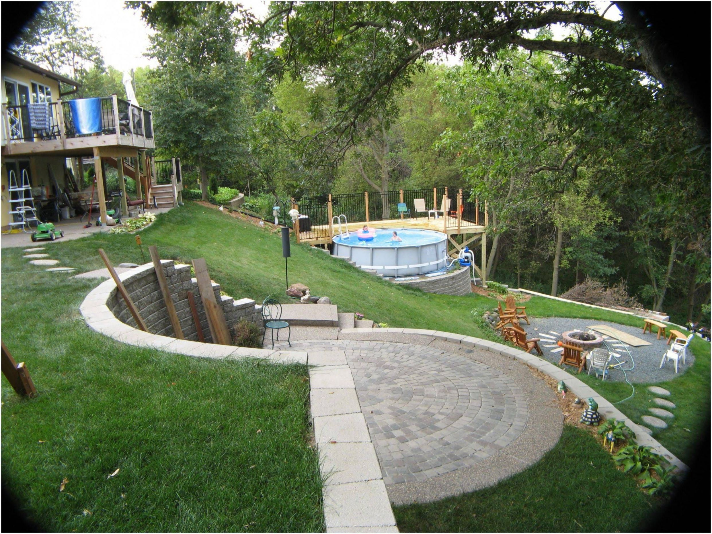 Pin on Low Maintenance Landscaping Ideas - backyard ideas hill