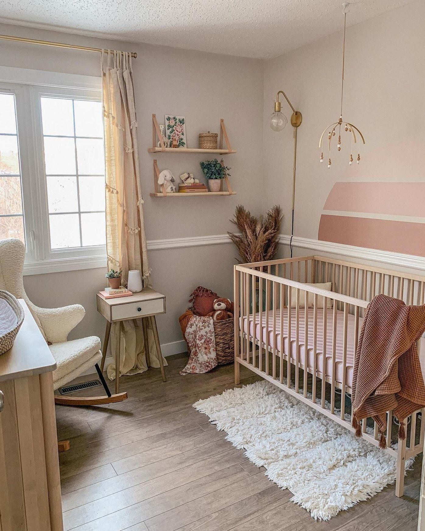 Pin on Southwest-Inspired Nursery Ideas - baby room mid valley