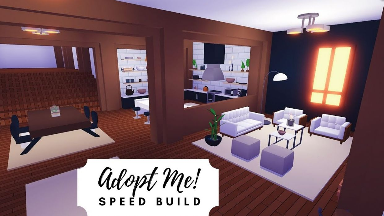 Pirate House Speed Build (PART 9) 🏴‍☠️ Roblox Adopt Me! - living room ideas adopt me