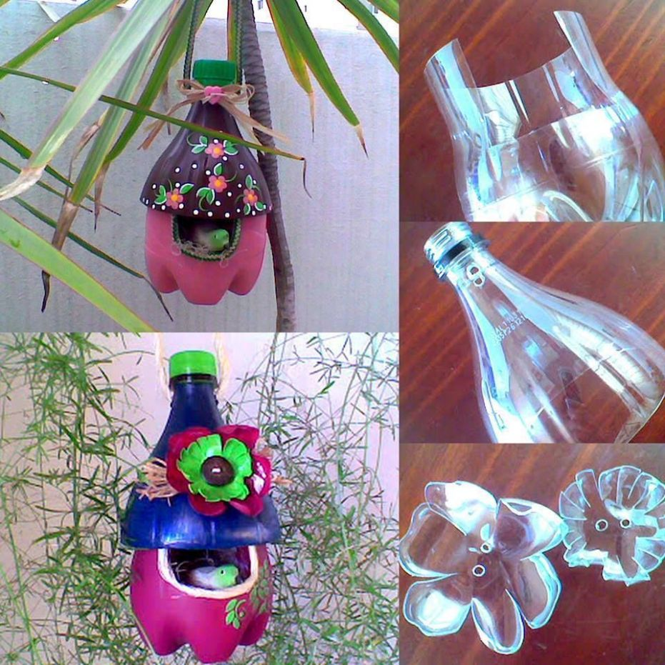 Plastic Bottles DIY - To give up from plastic is very difficult ...