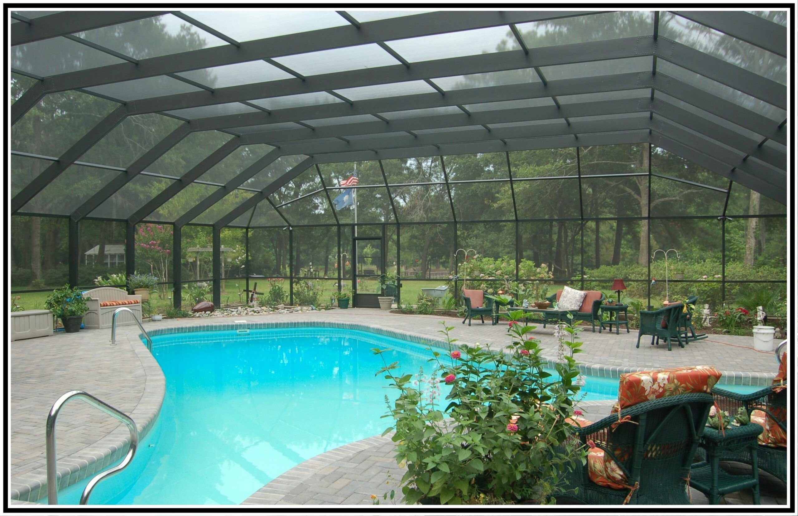 pool enclosure designs | pool enclosures and screen rooms are an ..