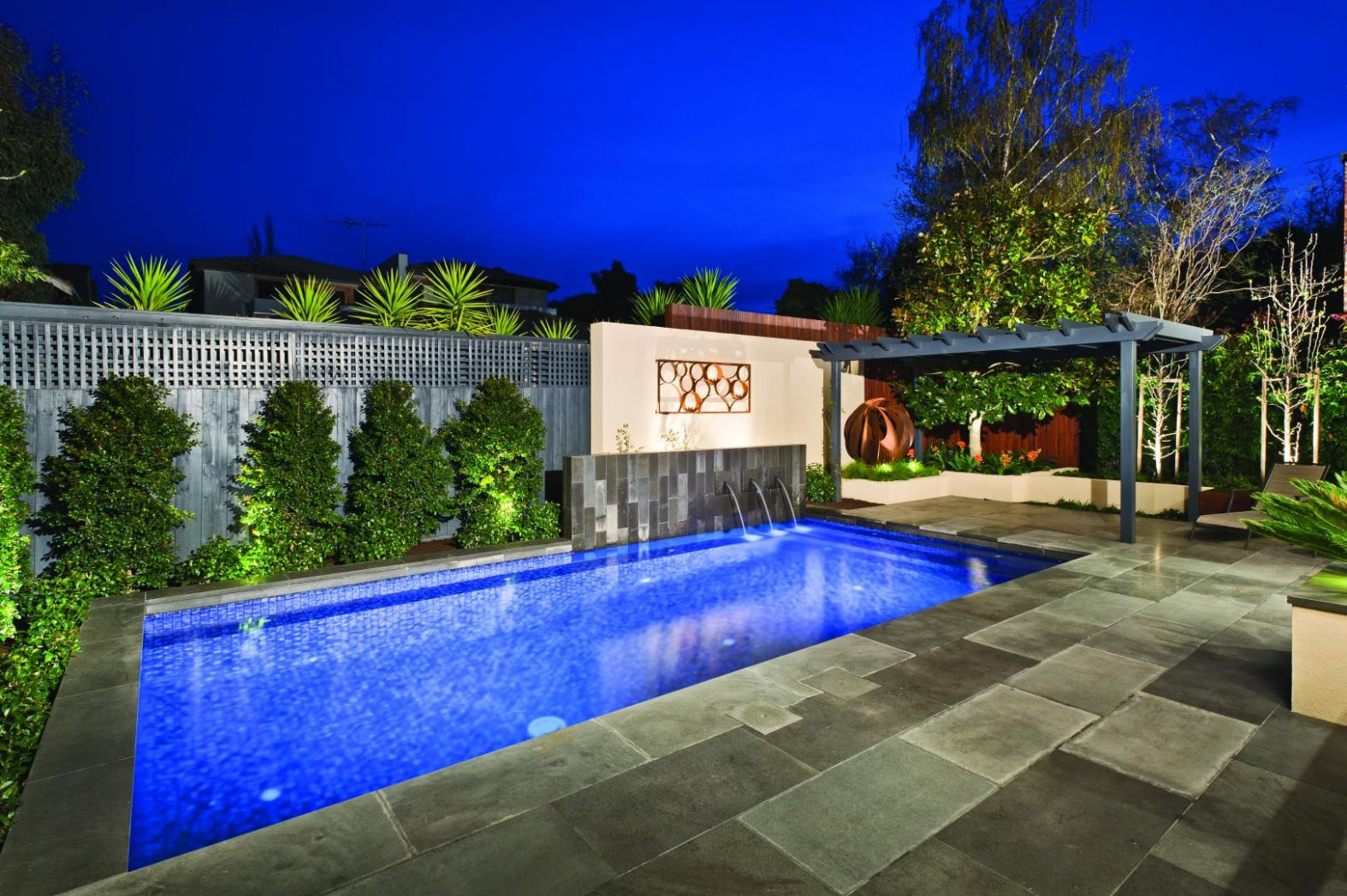 Pool Landscaping Ideas Melbourne On A Budget Inground Home ...