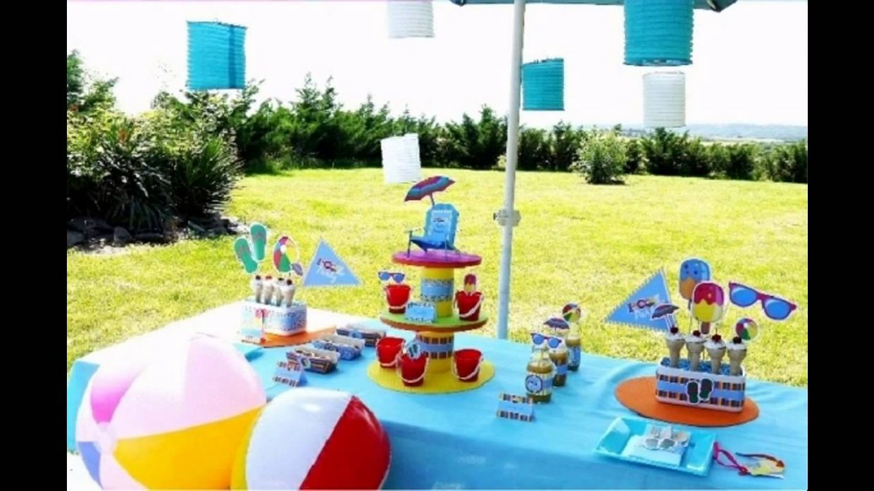 Pool party decorations for kids - pool party ideas youtube