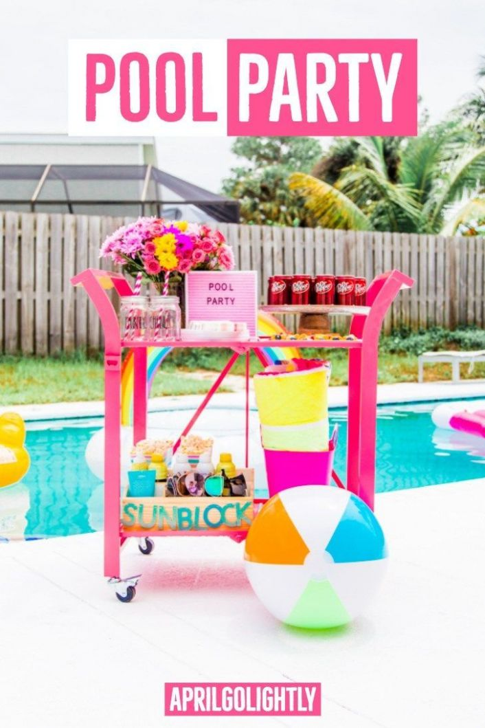 Pool Party Ideas for Adults. Summer is here and I am getting ready ..