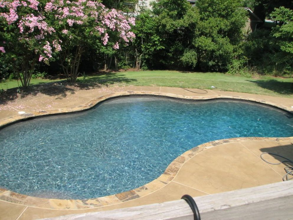 Pool surround (With images) | Pool colors, Backyard pool, Pool ..