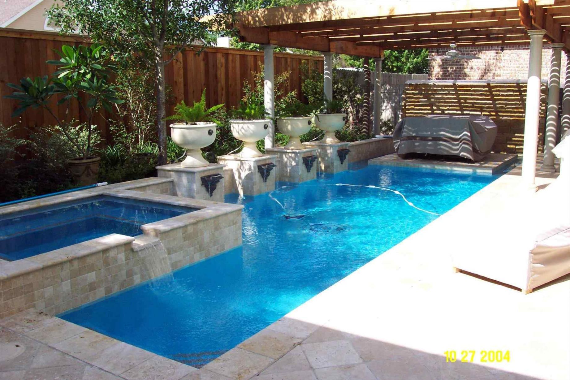 Pool With Hardscape And Landscape Ideas Mosaic Rhcom Nice ...