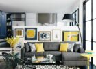 Pops of yellow (Home & Interiors) (With images) | Living room grey ...