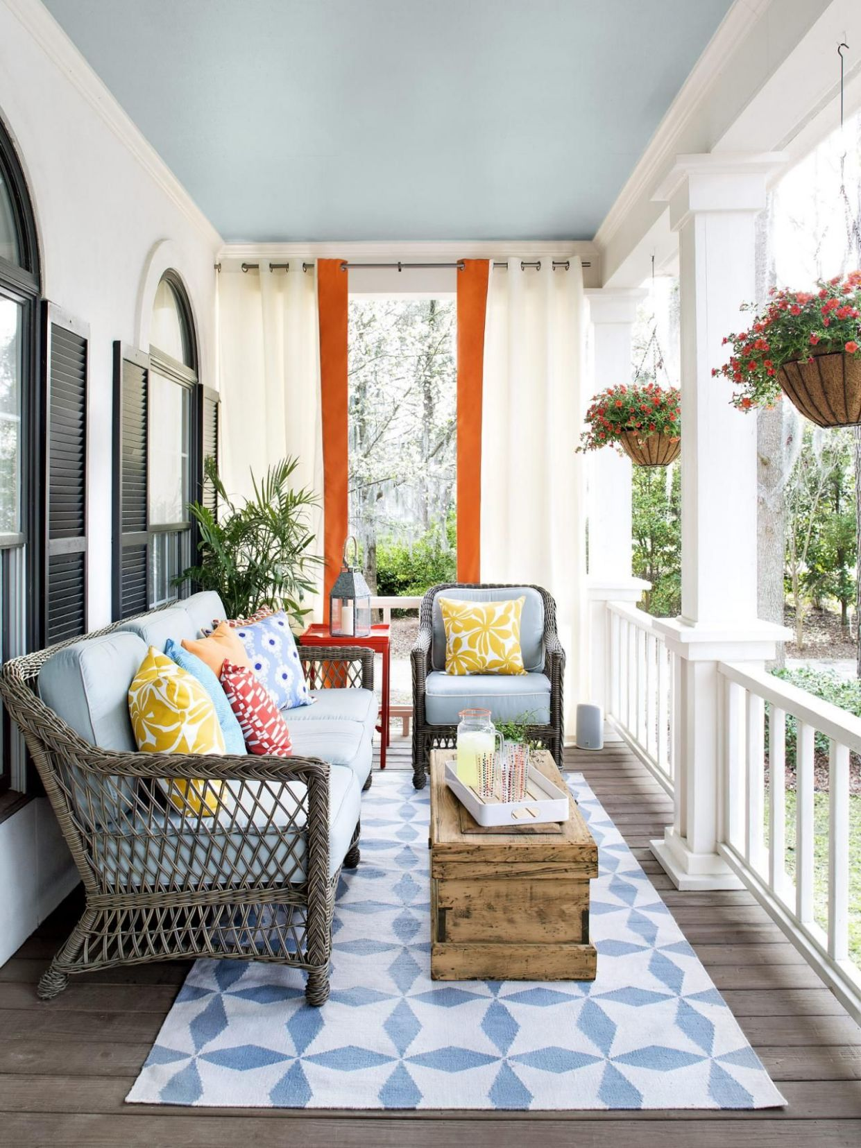 Porch Design and Decorating Ideas (With images) | Porch design, Home - front porch decor ideas