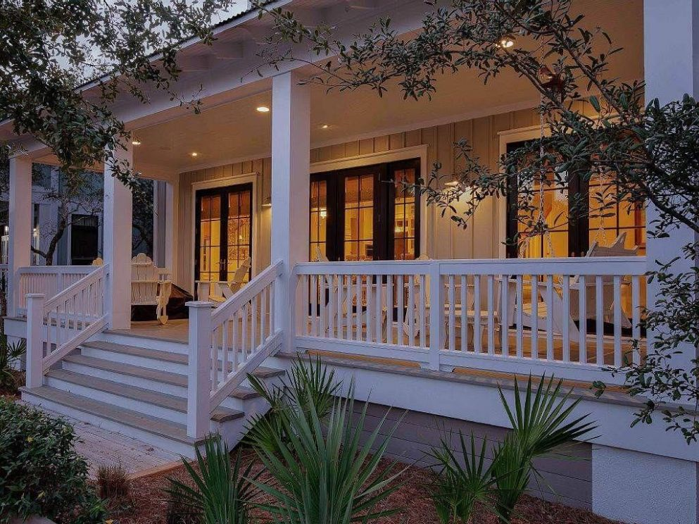 Porch Ideas for Houses | House with porch, Front porch design ...