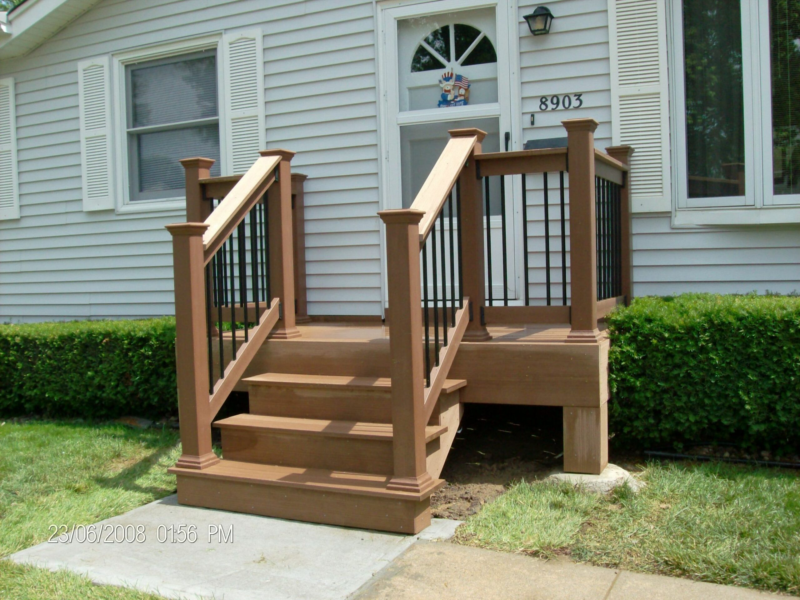 porches for mobile homes | Mobile+home+porch+ideas (With images ..