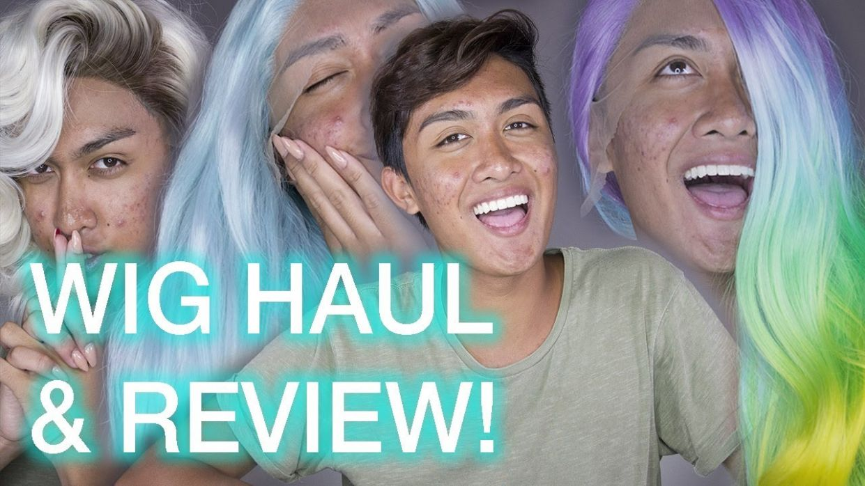 Powder Room D WIG Collection Haul / Try-On Review - powder room makeup review