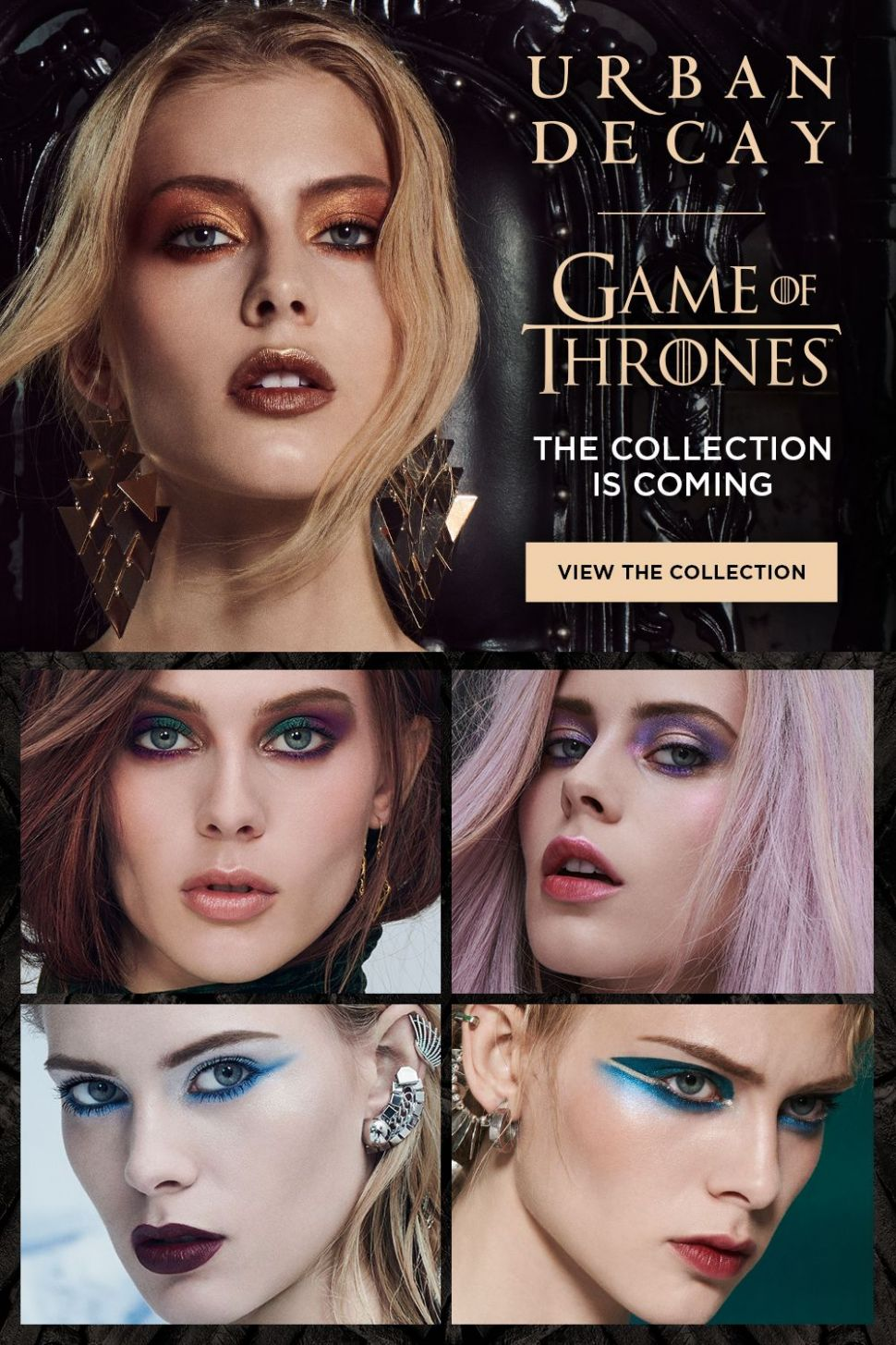 Prepare to create makeup looks inspired by House Stark, House ..
