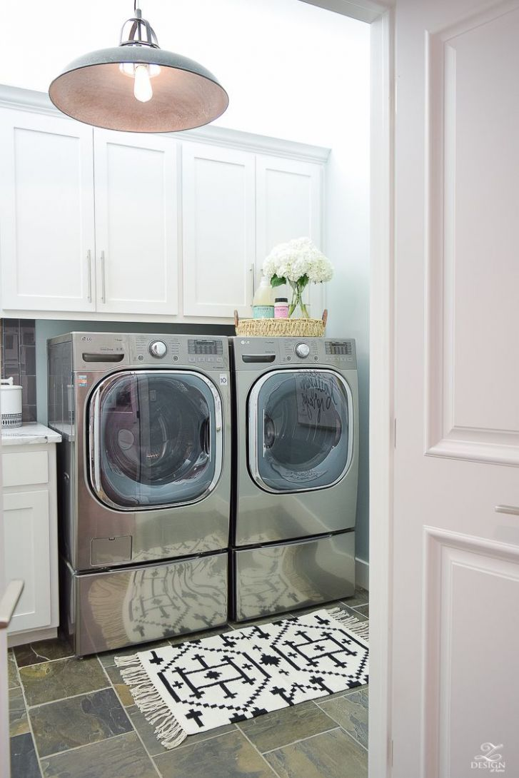 Pretty & Functional Laundry Room Details + Room Reveal (With ..