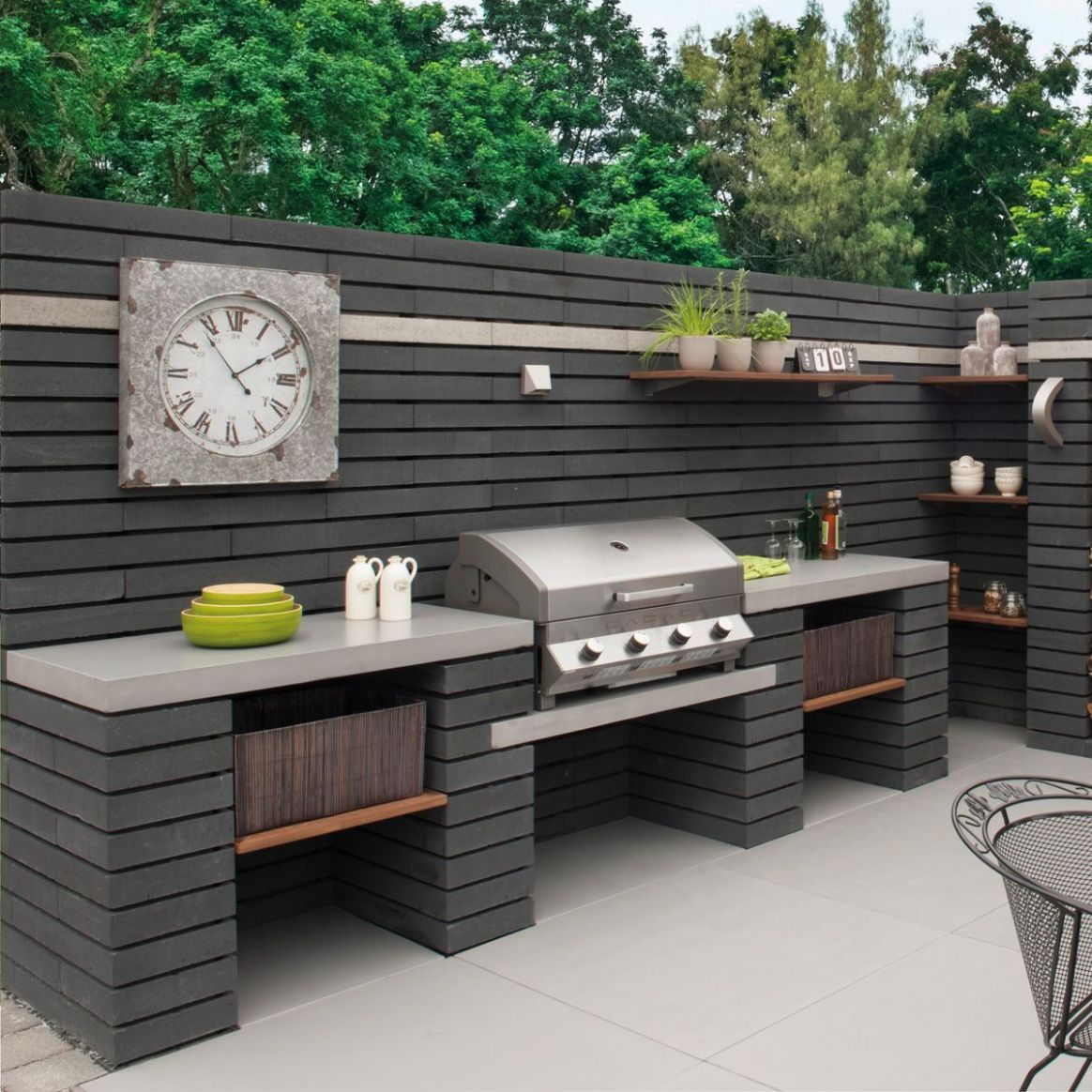 Project possibilities are endless from 'garden kitchens' to ...