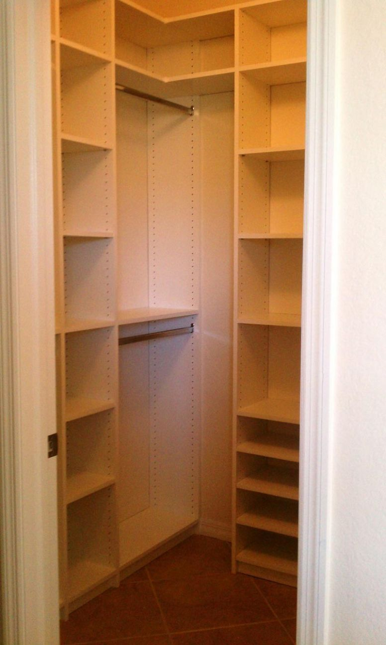 Quiet Corner:Cute Small Closet Ideas - Quiet Corner - closet ideas corner