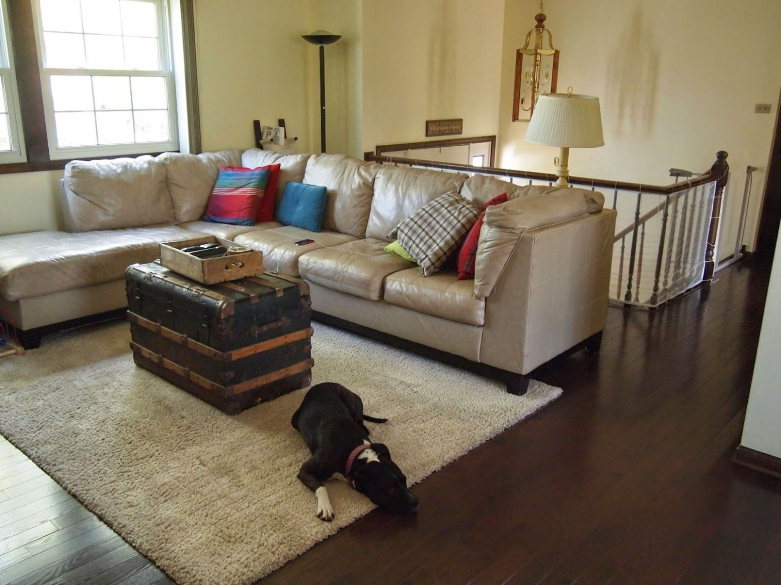 Raised Ranch Home Tour | Livingroom layout, Living room renovation ..