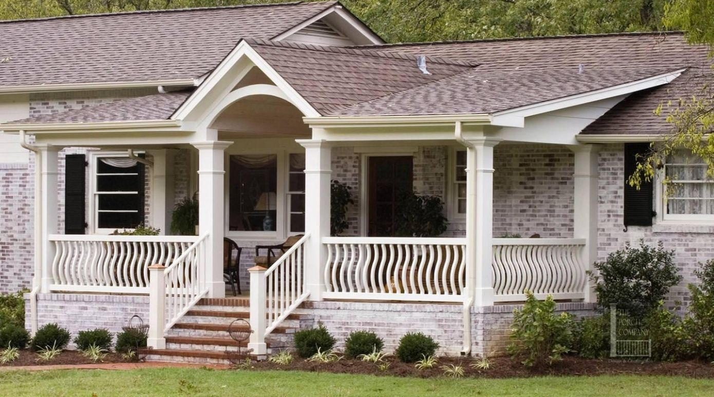 Ranch House Designs With Front Porch - front porch ideas for a ranch house