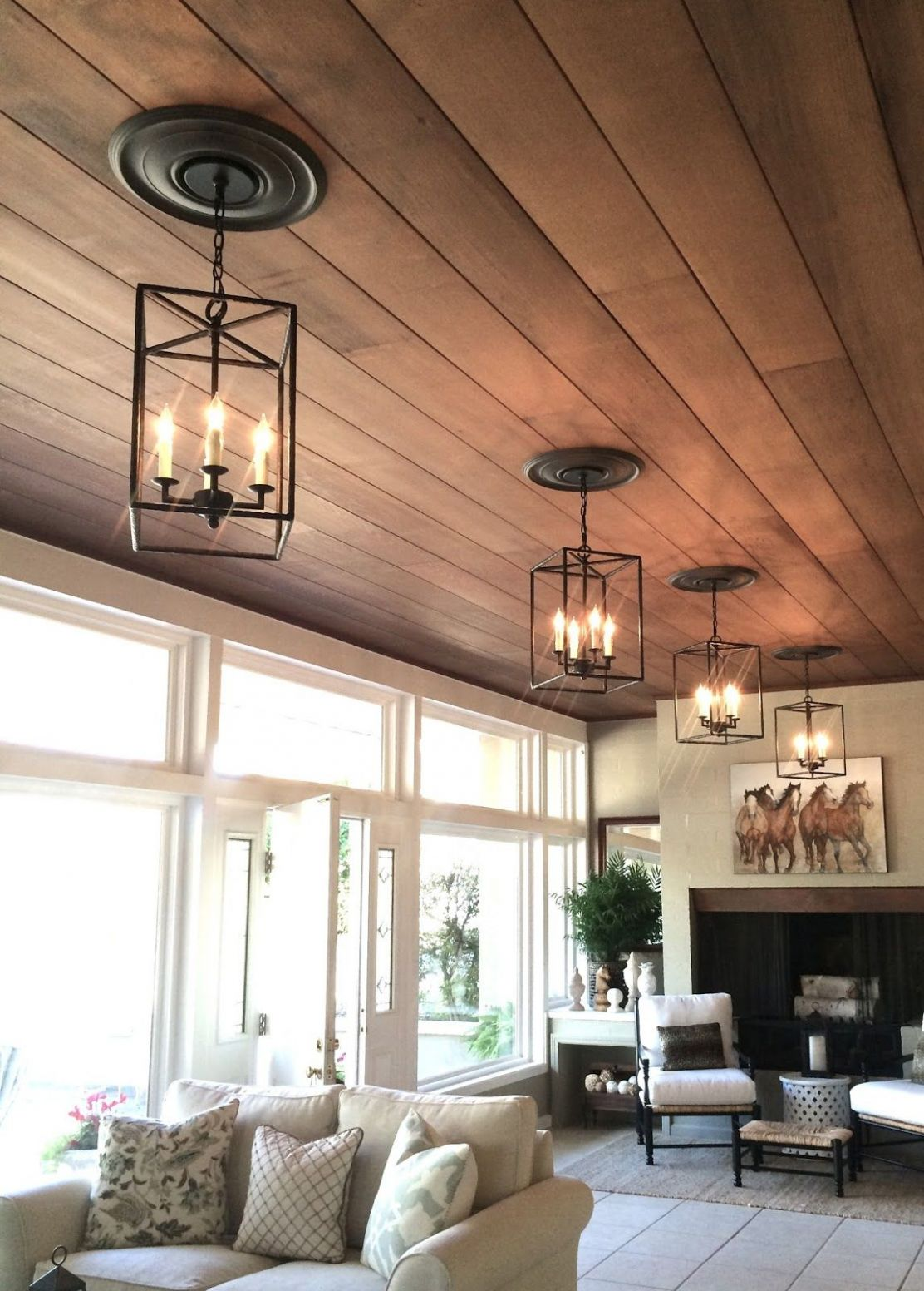 Ranch House Living Room Before and After (With images) | Ceiling ..