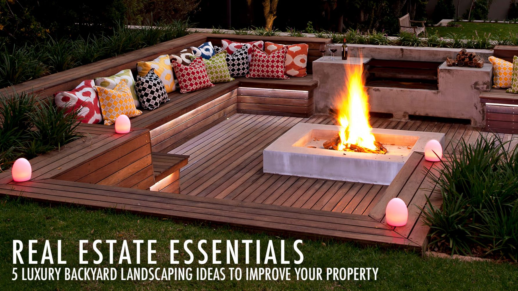 Real Estate Essentials – 12 Luxury Backyard Landscaping Ideas to ..