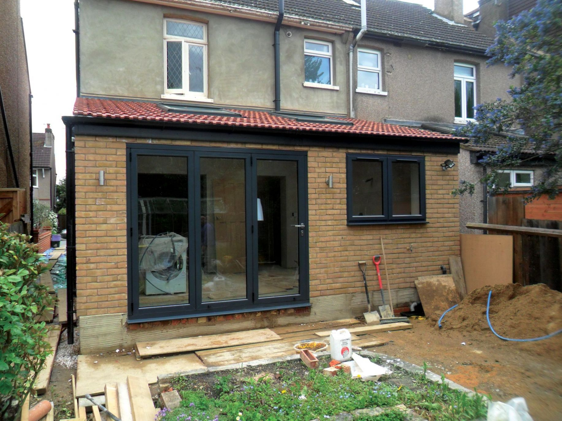rear extension bifold doors and window - Google Search | House ..