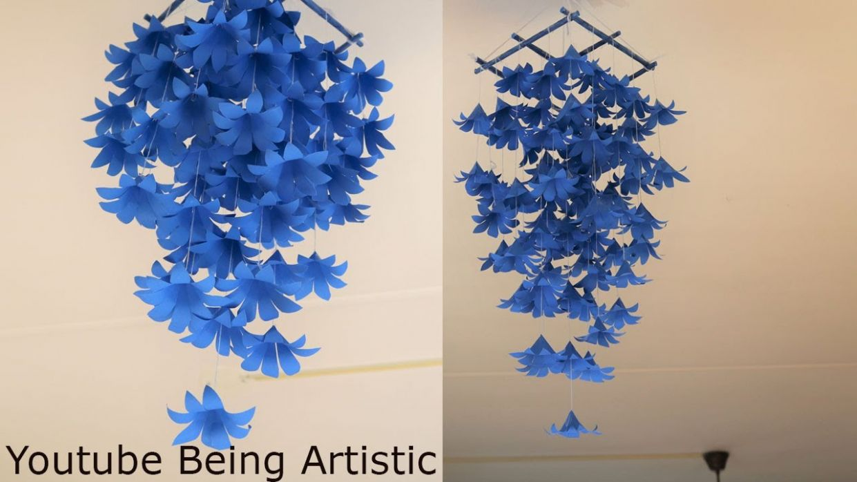 RECYCLABLES BLOG: DIY Simple Home Decor - Hanging Flowers ..