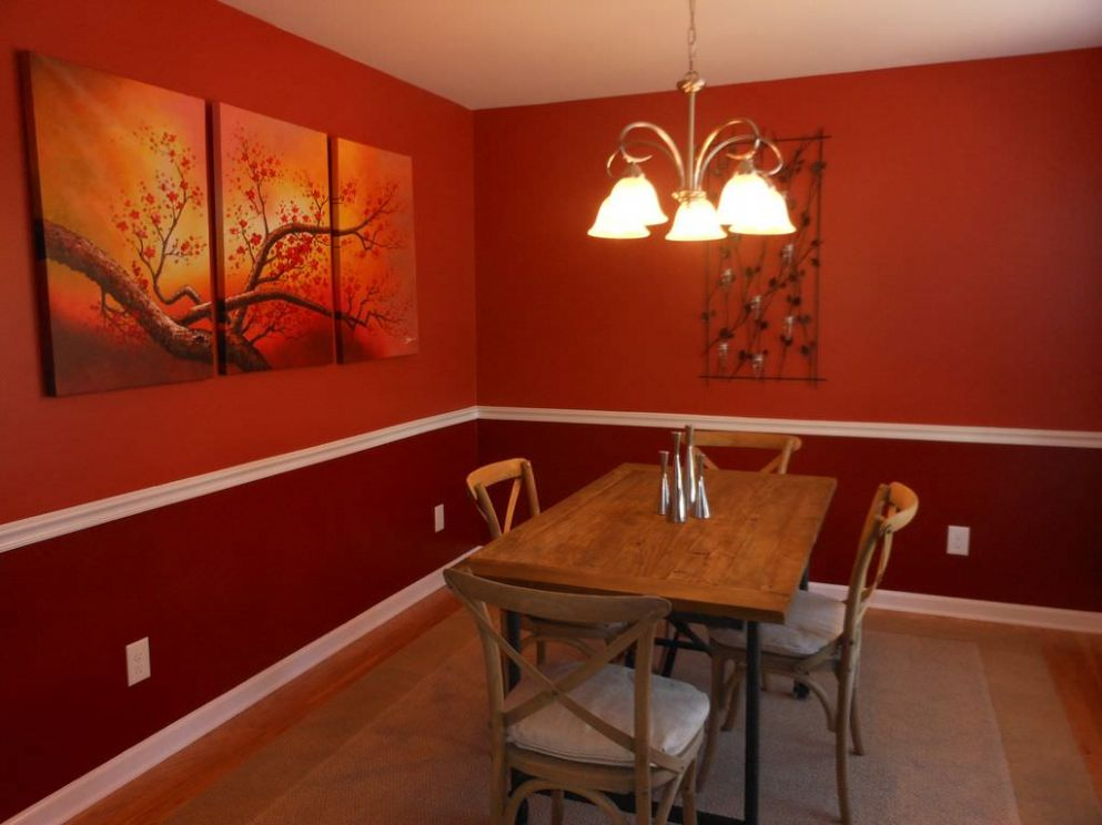 Red Dining Room Decor – HomePimp - dining room ideas red