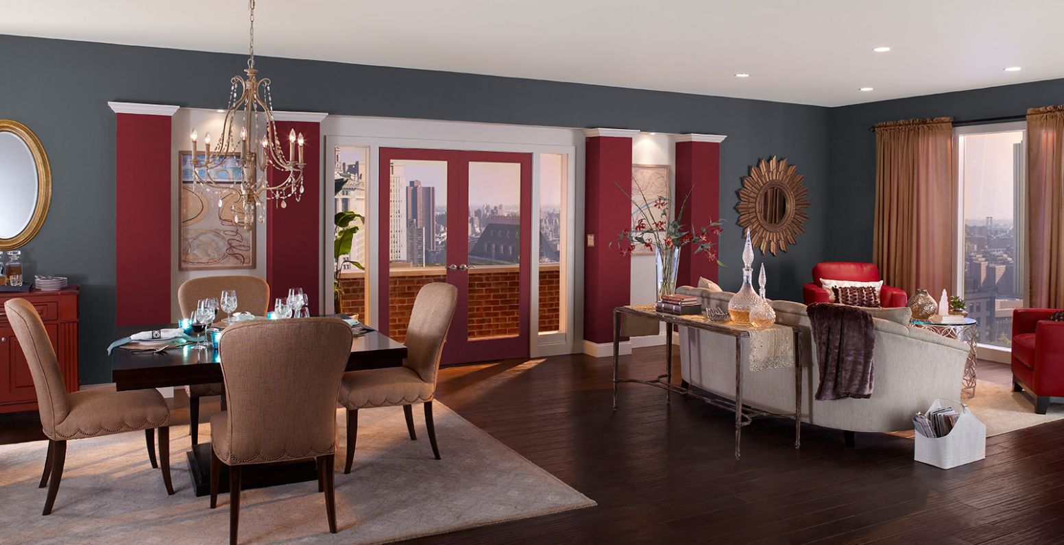 Red Dining Room Ideas and Inspirational Paint Colors | Behr - dining room ideas red