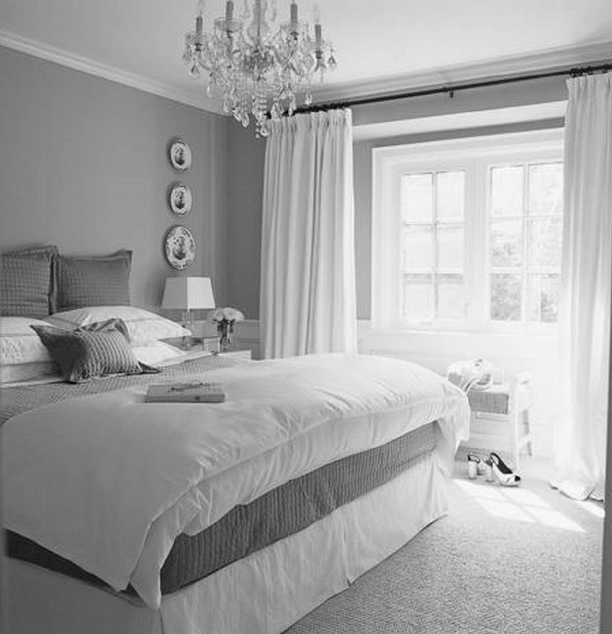 Related image | Light gray bedroom, Bedroom colors, Bedroom design
